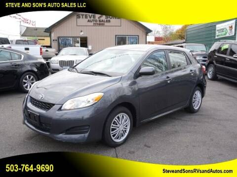 2009 Toyota Matrix for sale at Steve & Sons Auto Sales in Happy Valley OR