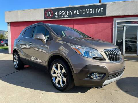 2014 Buick Encore for sale at Hirschy Automotive in Fort Wayne IN