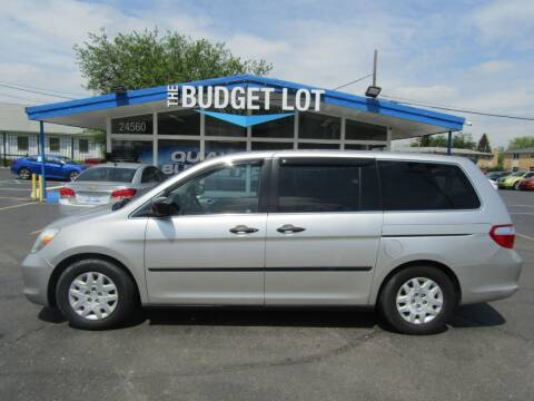 2007 Honda Odyssey for sale at THE BUDGET LOT in Detroit MI