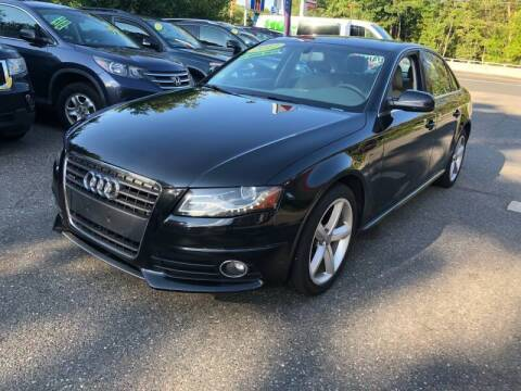 2012 Audi A4 for sale at TOLLAND CITGO AUTO SALES in Tolland CT