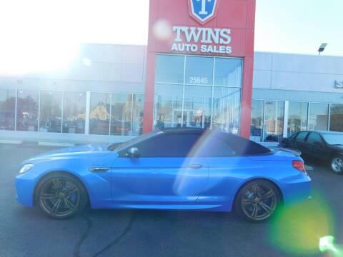 2014 BMW M6 for sale at Twins Auto Sales Inc Redford 1 in Redford MI