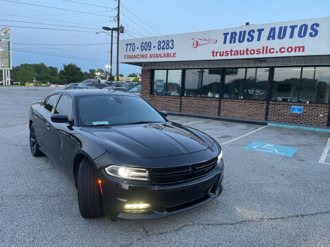 2017 Dodge Charger for sale at Trust Autos, LLC in Decatur GA