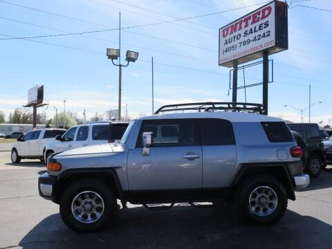 2011 Toyota FJ Cruiser for sale at United Auto Sales in Oklahoma City OK