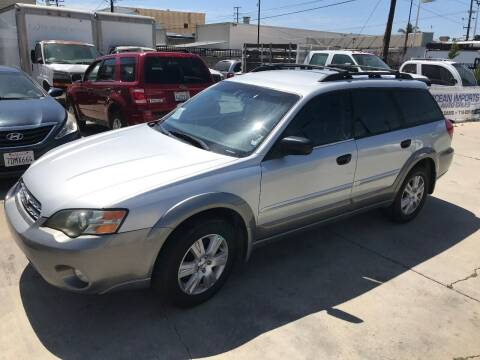 2005 Subaru Outback for sale at OCEAN IMPORTS in Midway City CA