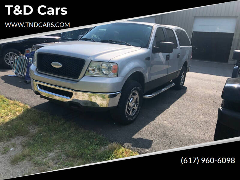 2006 Ford F-150 for sale at T&D Cars in Holbrook MA