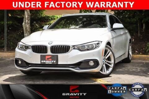 2018 BMW 4 Series for sale at Gravity Autos Atlanta in Atlanta GA