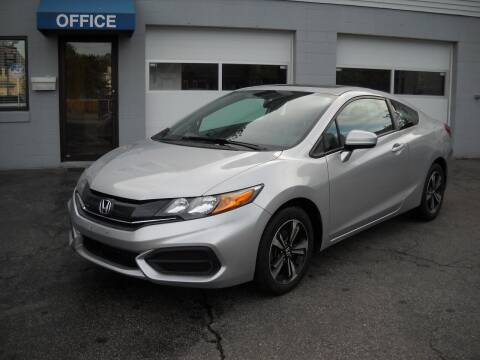 2015 Honda Civic for sale at Best Wheels Imports in Johnston RI