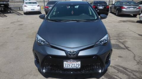 2017 Toyota Corolla for sale at Luxor Motors Inc in Pacoima CA