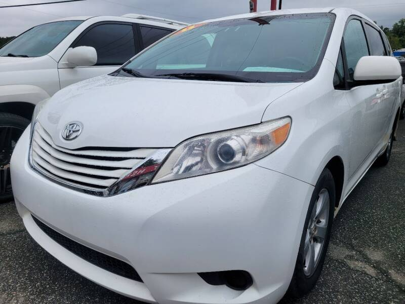 2015 Toyota Sienna for sale at Ace Auto Brokers in Charlotte NC