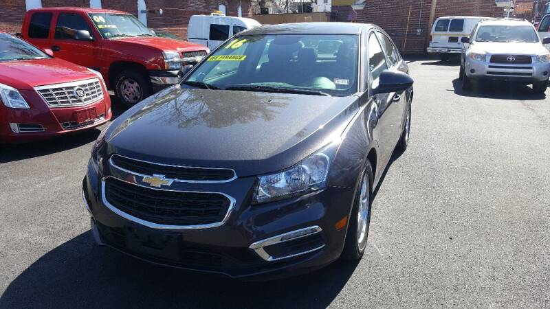 2016 Chevrolet Cruze Limited for sale at MOTTA AUTO SALES in Methuen MA