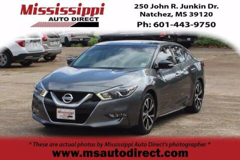 2017 Nissan Maxima for sale at Auto Group South - Mississippi Auto Direct in Natchez MS