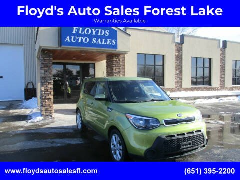 2014 Kia Soul for sale at Floyd's Auto Sales Forest Lake in Forest Lake MN