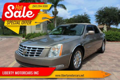 2007 Cadillac DTS for sale at LIBERTY MOTORCARS INC in Royal Palm Beach FL