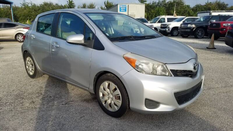 2013 Toyota Yaris for sale at DELRAY AUTO MALL in Delray Beach FL