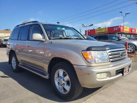 2003 Toyota Land Cruiser for sale at CARCO SALES & FINANCE in Chula Vista CA