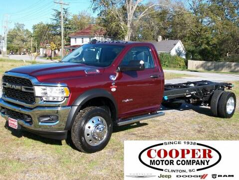 2020 RAM Ram Chassis 5500 for sale at Cooper Motor Company in Clinton SC