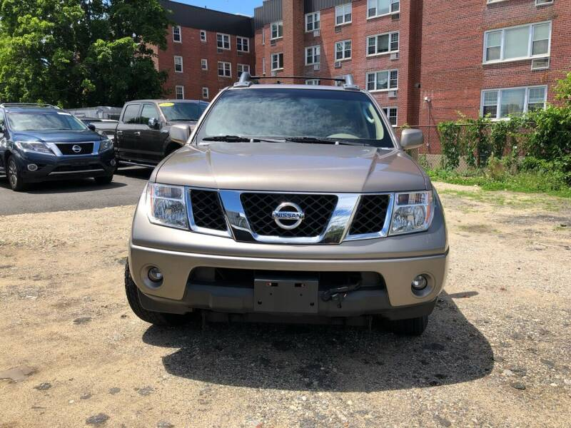 2006 Nissan Frontier for sale at OFIER AUTO SALES in Freeport NY