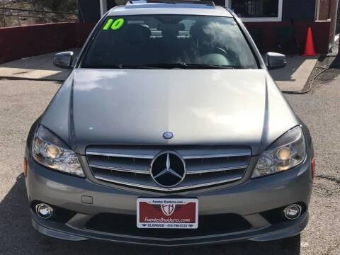 2010 Mercedes-Benz C-Class for sale at Fuentes Brothers Auto Sales - Jessup in Jessup MD