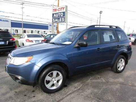 2012 Subaru Forester for sale at TRI CITY AUTO SALES LLC in Menasha WI