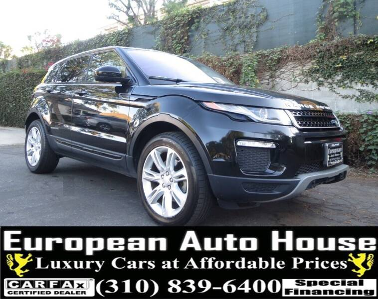 2017 Land Rover Range Rover Evoque for sale at European Auto House in Los Angeles CA