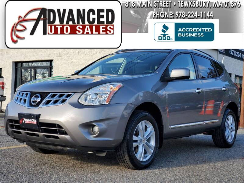 2012 Nissan Rogue for sale at Advanced Auto Sales in Tewksbury MA