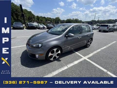2010 Volkswagen GTI for sale at Impex Auto Sales in Greensboro NC