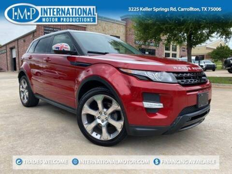 2015 Land Rover Range Rover Evoque for sale at International Motor Productions in Carrollton TX
