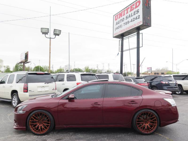 2013 Nissan Maxima for sale at United Auto Sales in Oklahoma City OK