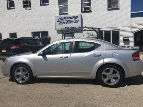 2008 Dodge Avenger for sale at Lightning Auto Sales in Springfield IL