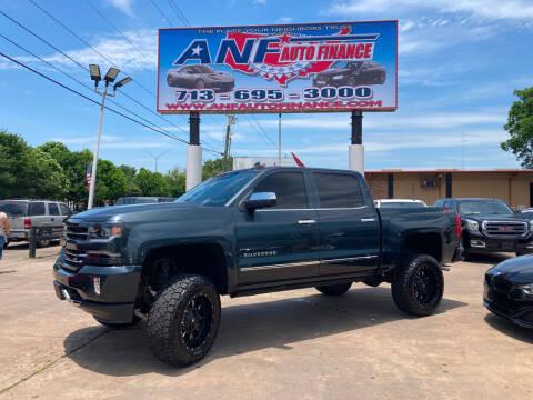 2018 Chevrolet Silverado 1500 for sale at ANF AUTO FINANCE in Houston TX