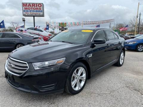 2014 Ford Taurus for sale at Mario Motors in South Houston TX