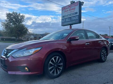 2016 Nissan Altima for sale at Unlimited Auto Group in West Chester OH