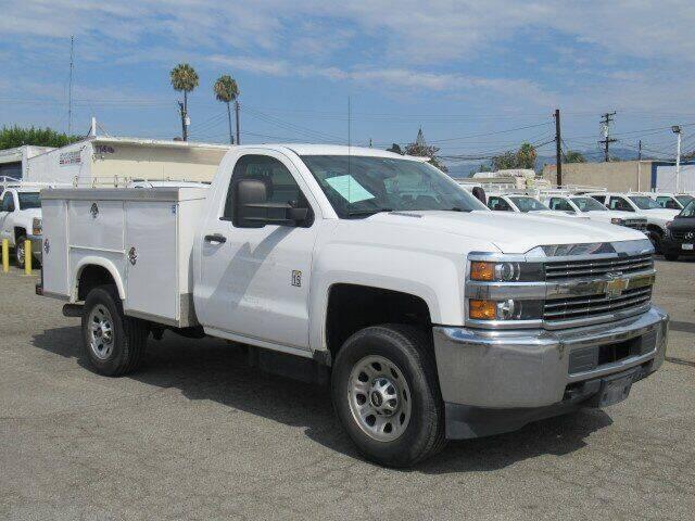 2016 Chevrolet Silverado 3500HD CC for sale at Atlantis Auto Sales in La Puente CA