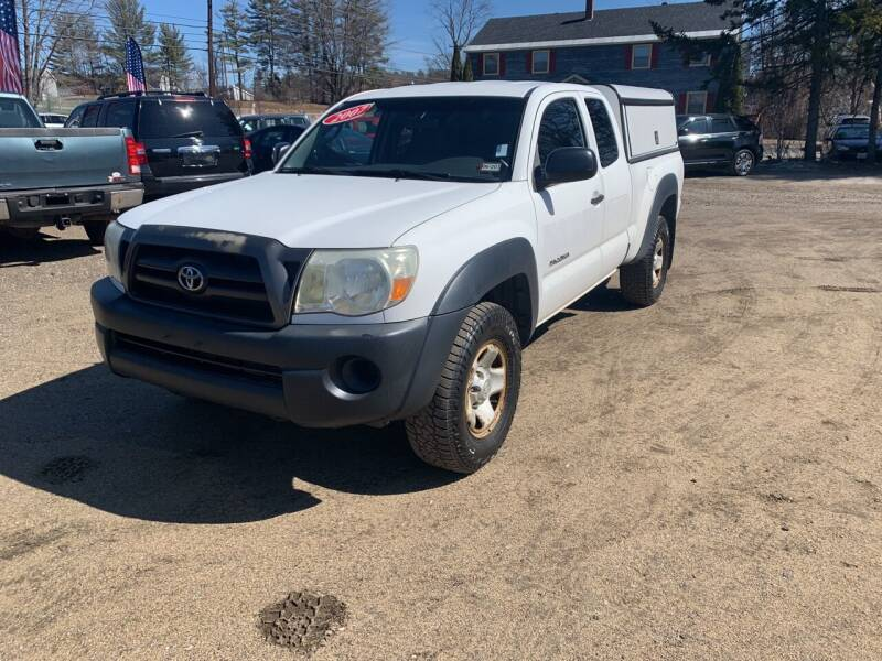 2007 Toyota Tacoma for sale at Winner's Circle Auto Sales in Tilton NH