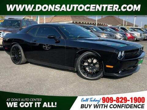 2014 Dodge Challenger for sale at Dons Auto Center in Fontana CA