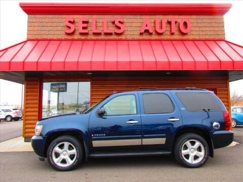 2007 Chevrolet Tahoe for sale at Sells Auto INC in Saint Cloud MN