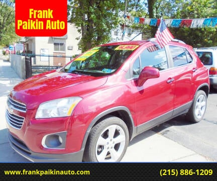 2015 Chevrolet Trax for sale at Frank Paikin Auto in Glenside PA