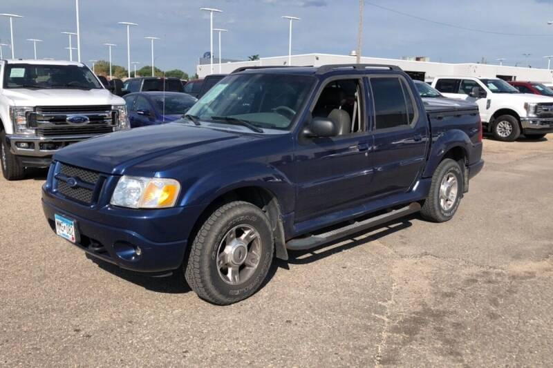 2004 Ford Explorer Sport Trac for sale at Capital Fleet  & Remarketing  Auto Finance in Columbia Heights MN