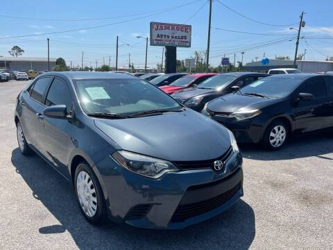 2014 Toyota Corolla for sale at Jamrock Auto Sales of Panama City in Panama City FL