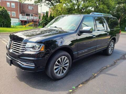 2017 Lincoln Navigator L for sale at Professionals Auto Sales in Philadelphia PA