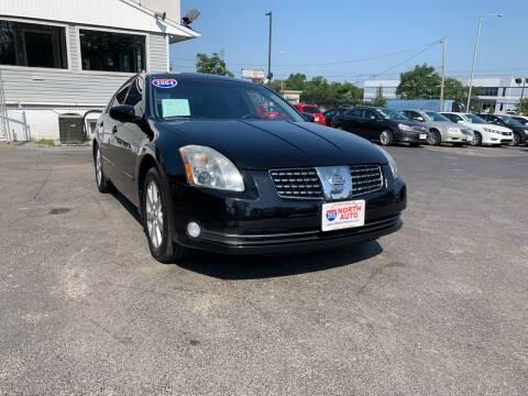 2004 Nissan Maxima for sale at 355 North Auto in Lombard IL