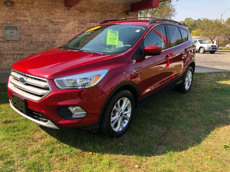 2017 Ford Escape for sale at Murdock Used Cars in Niles MI