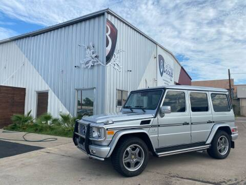 2008 Mercedes-Benz G-Class for sale at Barrett Auto Gallery in San Juan TX