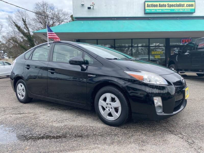 2010 Toyota Prius for sale at Action Auto Specialist in Norfolk VA