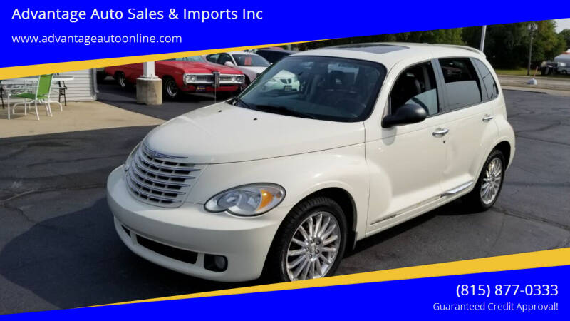2008 Chrysler PT Cruiser for sale at Advantage Auto Sales & Imports Inc in Loves Park IL