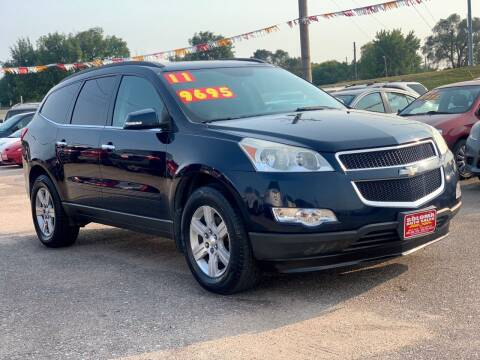 2011 Chevrolet Traverse for sale at SOLOMA AUTO SALES in Grand Island NE