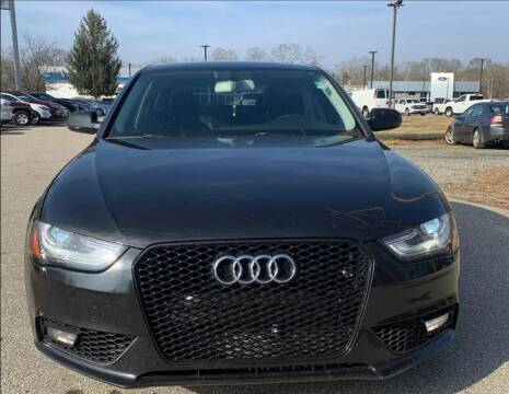 2013 Audi A4 for sale at MCQ SALES INC in Upton MA