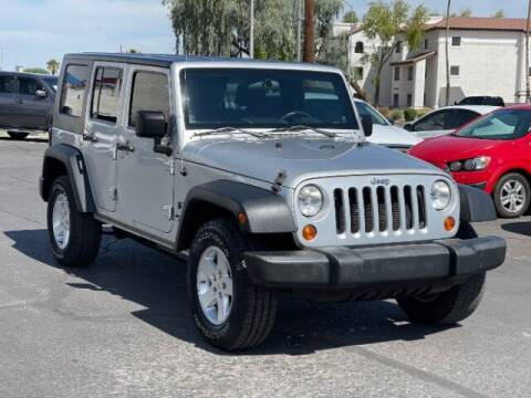 2008 Jeep Wrangler Unlimited for sale at Brown & Brown Wholesale in Mesa AZ