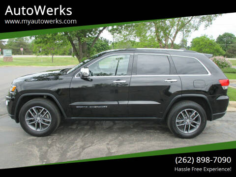 2018 Jeep Grand Cherokee for sale at AutoWerks in Sturtevant WI