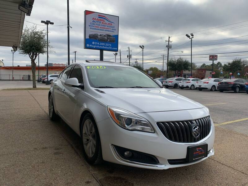 2014 Buick Regal for sale at Magic Auto Sales in Dallas TX